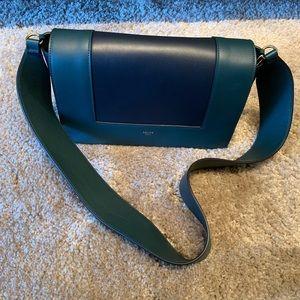 Celine frame green black bag brand new